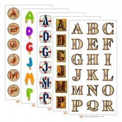 March 2005 Alphabet Bundle
