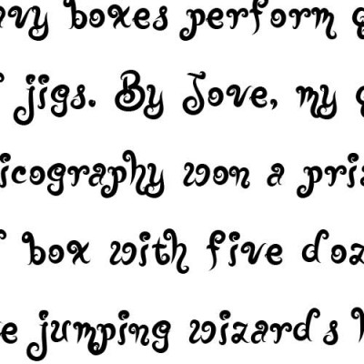 LD Joyous - Font