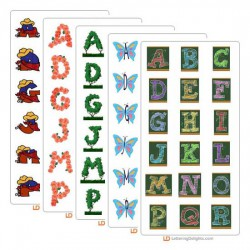 May 2005 Alphabet Bundle