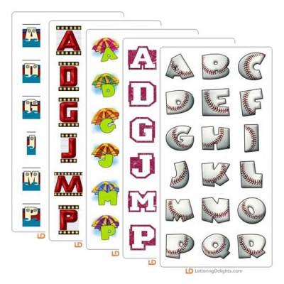 June 2005 Alphabet Bundle