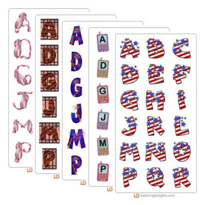 July 2005 Alphabet Bundle