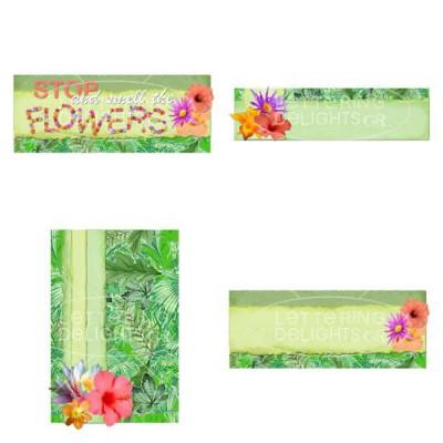 JD Rainforest Flowers - GS