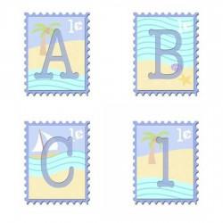 JDA Beach Stamps - AL