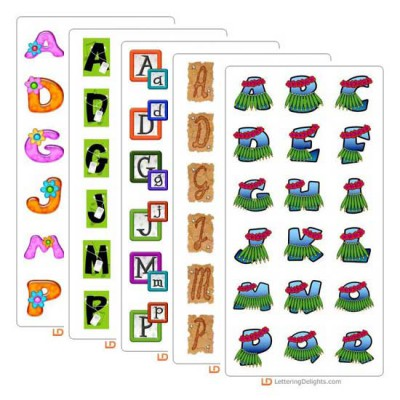 August 2005 Alphabet Bundle