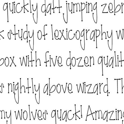 LD Hot Dot - Font