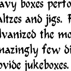 LDJ Jilligraphy - Font