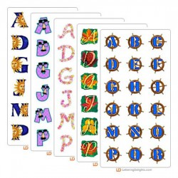 September 2005 Alphabet Bundle