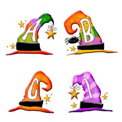 Wacky Witch Hats - AL