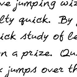 LD Pretty Pen - Font