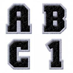 Varsity Black & Silver - AL