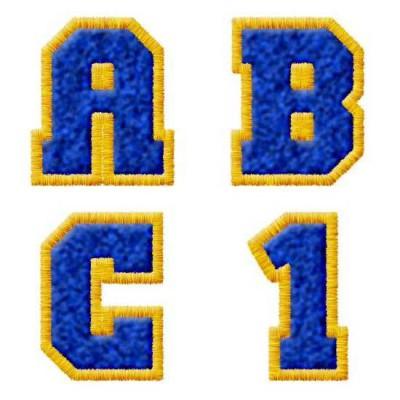 Varsity Blue & Gold - AL