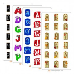 October 2005 Alphabet Bundle