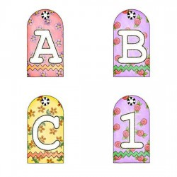 Bouquet Tags - AL
