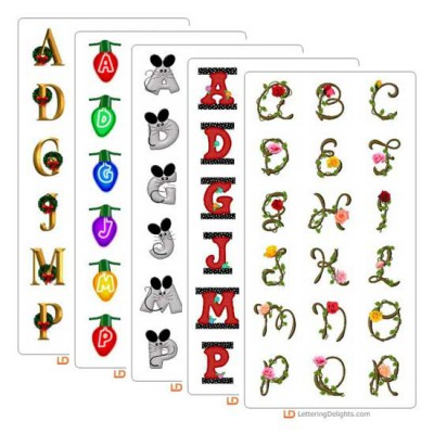 November 2005 Alphabet Bundle