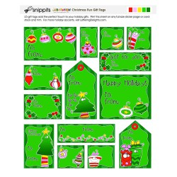 SN Christmas Fun Gift Tags - PR