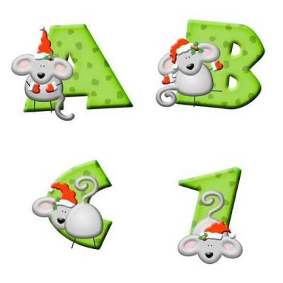 Christmas Mouse - AL
