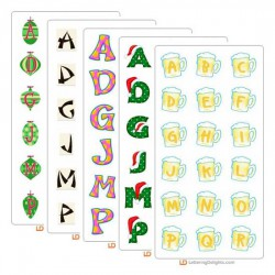 December 2005 Alphabet Bundle