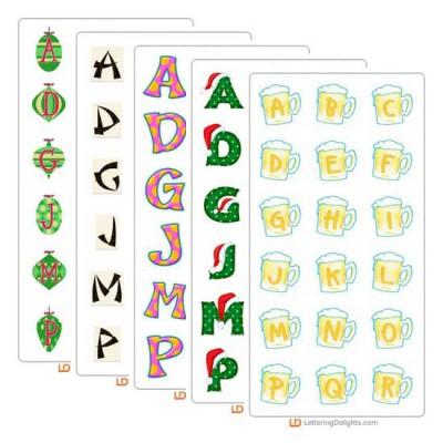 December 2005 Alphabet Bundle