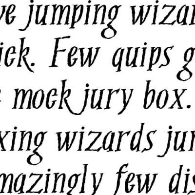 TXT Seasonal - Font