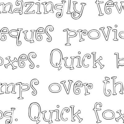 LDJ Burp Me - Font