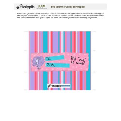 Ewe Valentine - Candy Bar Wrapper - PR