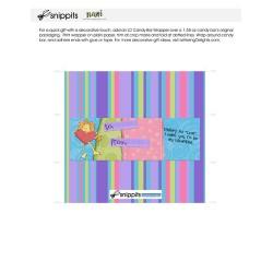 Lion Valentine - Candy Bar Wrapper - PR