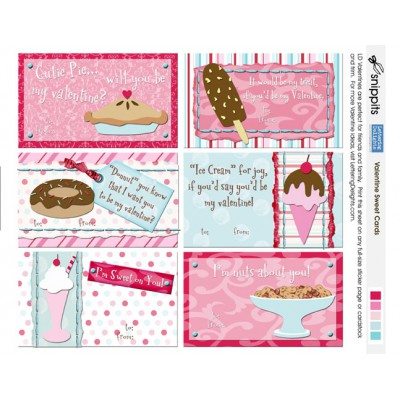 SN Valentine Sweet Cards - PR