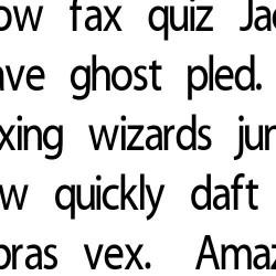 LD Candid - Font