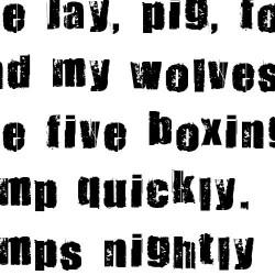 LD Grunge - Font