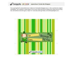 SN Leprechaun - Candy Bar Wrapper - PR