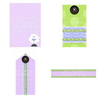 For the Baby Sheep - Cards - PR