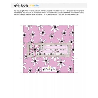 Cherish Mom - Candy Bar Wrapper - PR