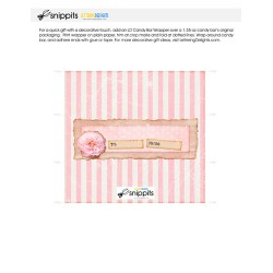 Mother's Bliss - Candy Bar Wrapper - PR