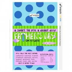 Father's Day Tie - Candy Bar Wrapper - PR