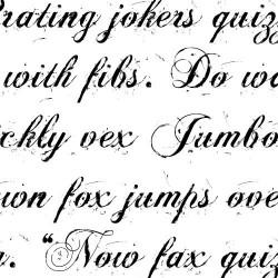 TXT Sloppy Script - Font