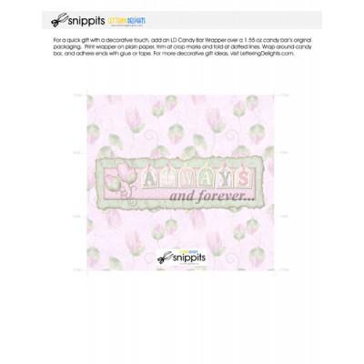 I Do - Candy Bar Wrapper - PR