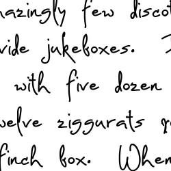 LD Dear Diary - Font