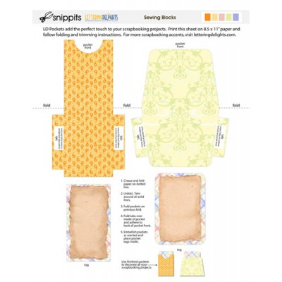 SNP Sewing Blocks - PR