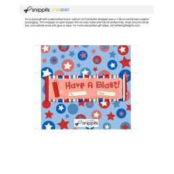 Have a Blast - Candy Bar Wrapper - PR
