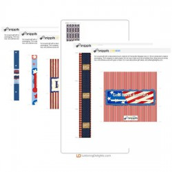 Independence Day Candy Bar Wrapper Bundle