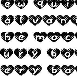 LD Dotty Hearts - Font