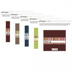 Stripes Candy Bar Wrapper Bundle