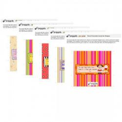Jillustration Friendship Candy Bar Wrapper Bundle
