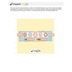 Bravo - Candy Bar Wrapper - PR