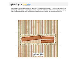 Naturals Congratulations - Candy Bar Wrapper - PR
