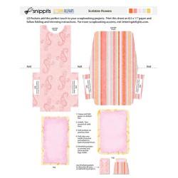 SNP Scribble Flowers - PR