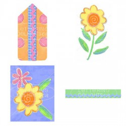 Pocket Flower Best Wishes - Card - PR