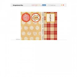 Gingerbread Boy - Cards - PR