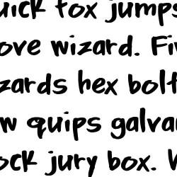 TXT Menu Item - Font