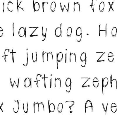 TXT Scribbletti - Font